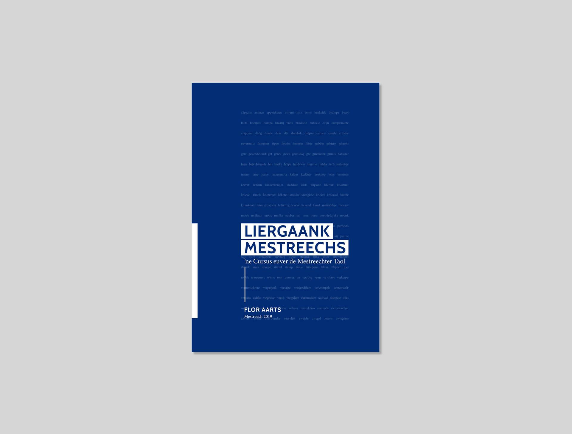 Ca Va Bien Boek ontwerp - Flor Aarts Liergaank Mestreechs