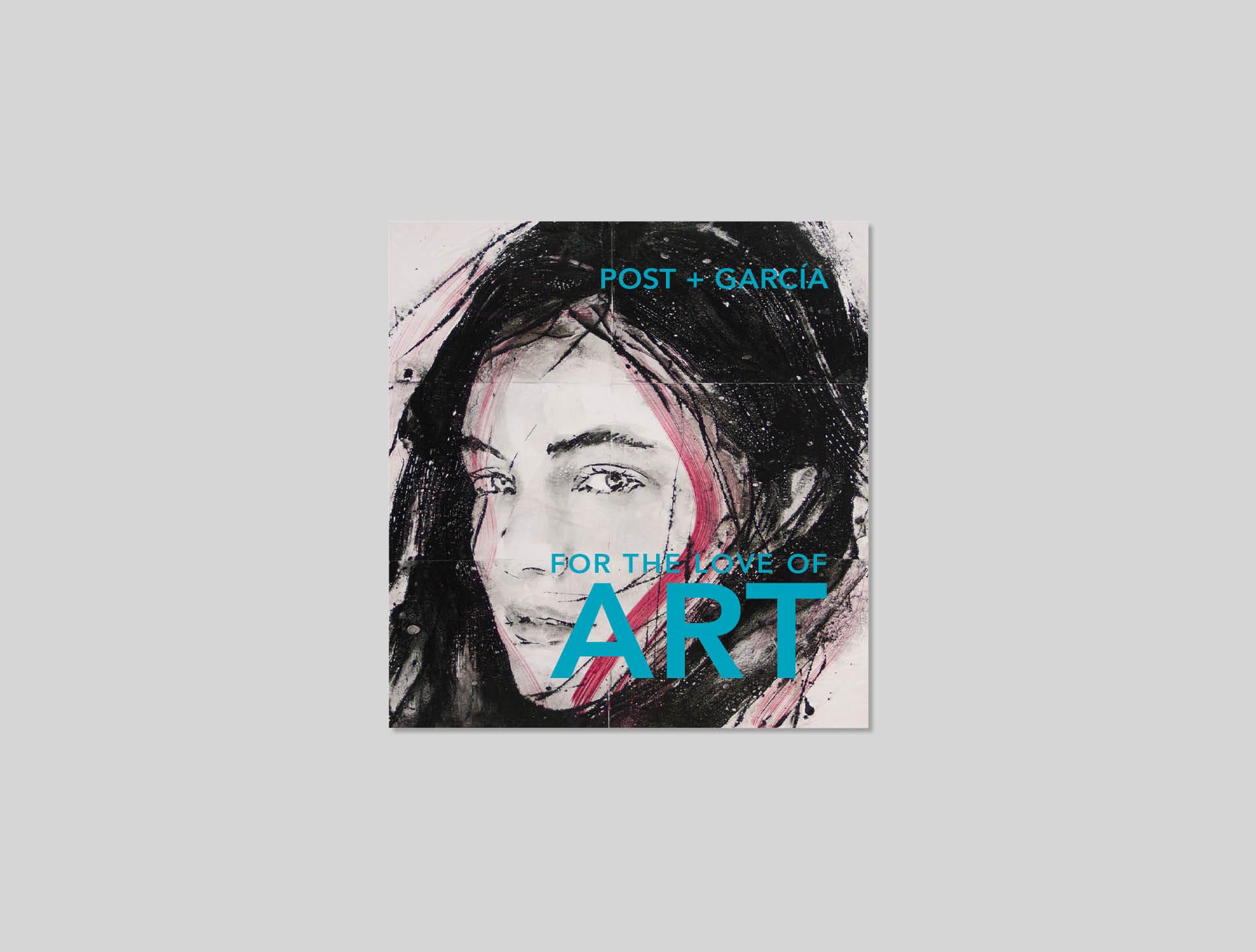 Post Garcia, kunstuitleen Maastricht - Flyer ontwerp - Ca Va Bien