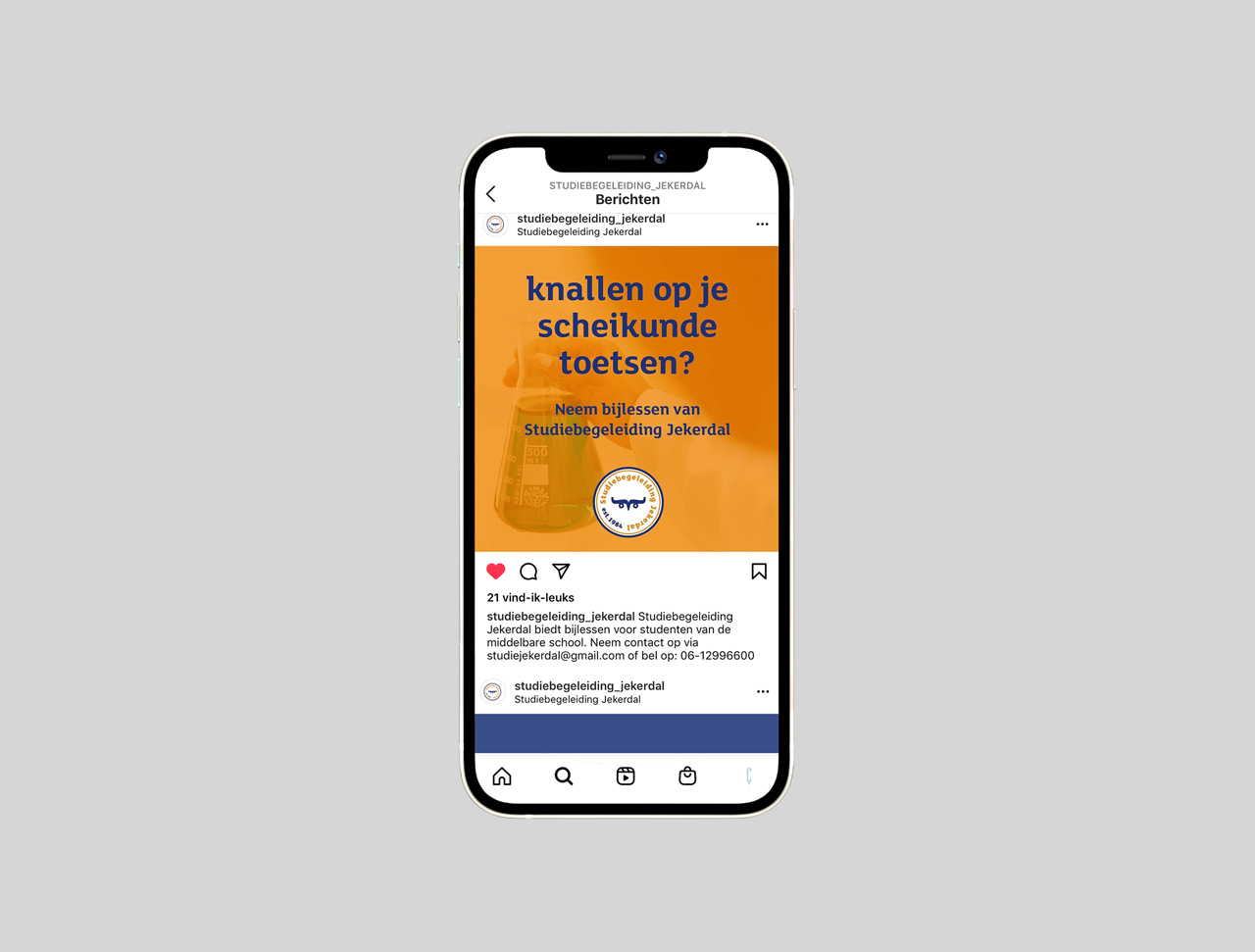 Studiebegeleiding Jekerdal - social media campagne