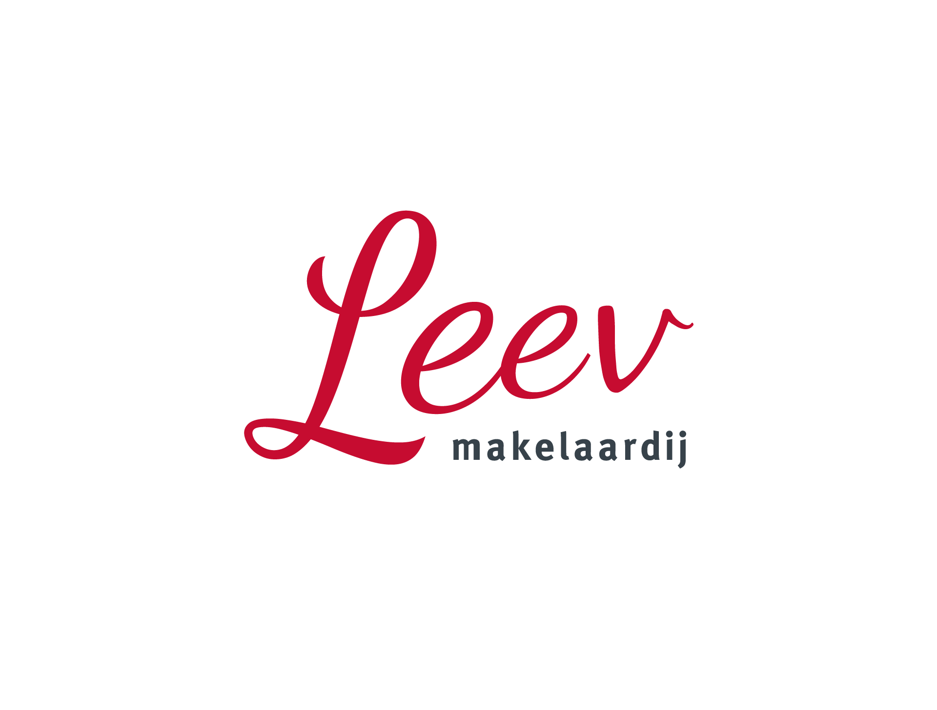 Leev Makelaardij - grafisch ontwerp huisstijl