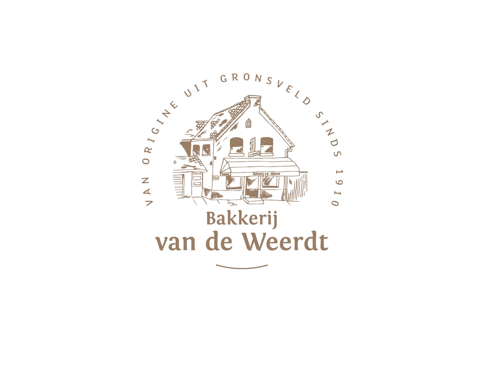 bakkerij van de weerdt - redesign logo