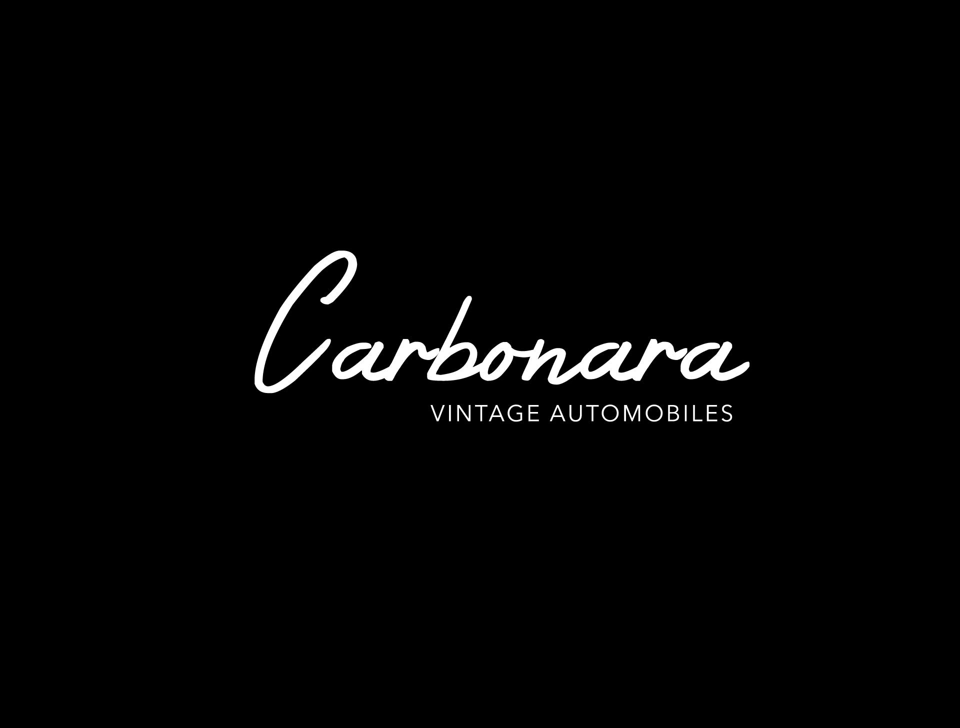 Carbonara - vintage automobiles logos