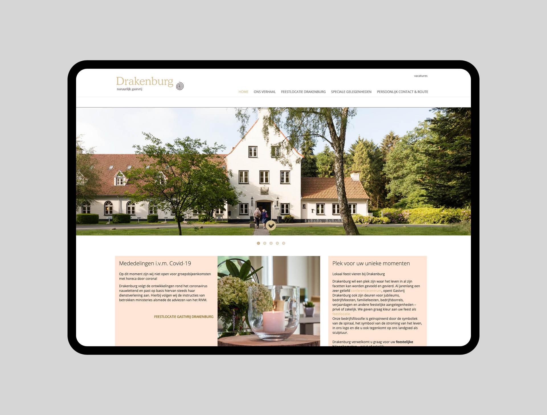 Drakenburg - website