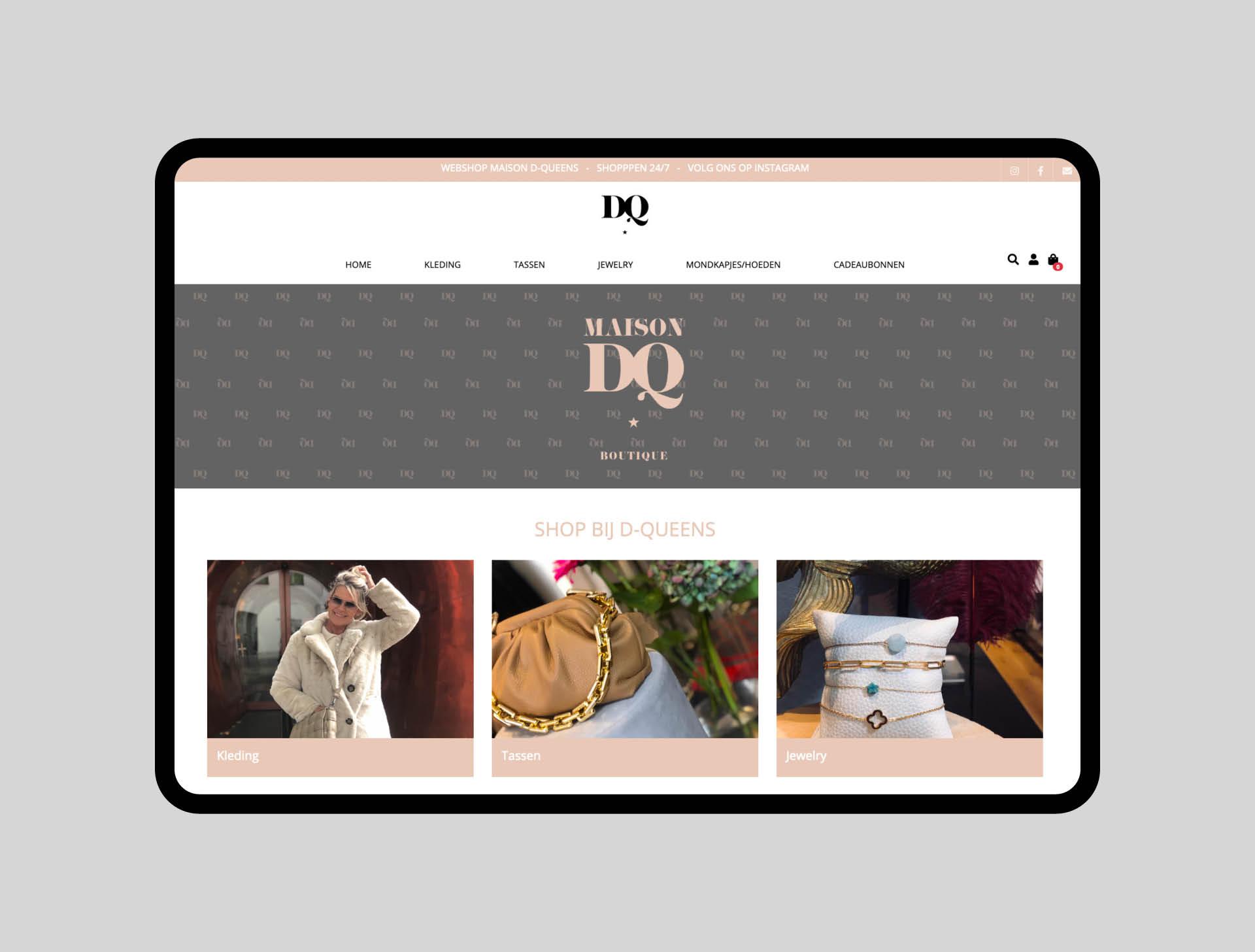 Maison DQ - webshop